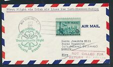 82555) Irland Ireland FAer Lingus FF New York - Dublin 30.4.58