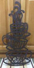 Metal Art Coffee Cup Picture Vintage Sign Bar Pub Wall Decor Kitchen Tea Farm