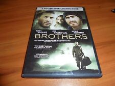Brothers (DVD Widescreen 2010) Tobey Maguire Jake Gyllenhaal Used