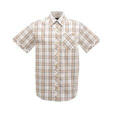 Camisas y polos de hombre Beige 100% algodón