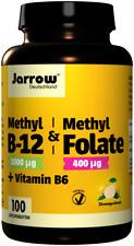 Jarrow Vitamin Methyl B-12+MethylFolate+B6