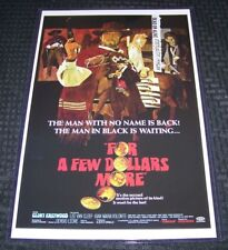 For A Few Dollars More 11X17 Movie Poster Clint Eastwood