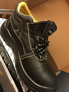 safety boots size 8 ( BRYES-T-SB )