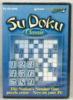 SUDOKU Classic PC CD ROM Sealed