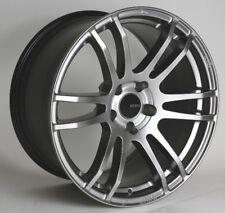 18x8 Enkei TSP6 5x114.3 +45 Hyper Silver Rims Fits Mazda 3 Accord Rsx Tsx