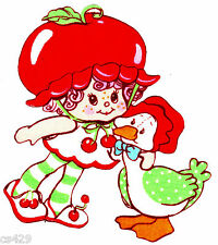"""5"""" STRAWBERRY SHORTCAKE CHERRY CUDDLER  CHARACTER WALL SAFE FABRIC DECAL CUT OUT"""