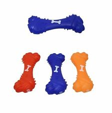 Dog Puppy Toy Squeeze Bone Pet Dogs Cats Chewing Toy Teething Play Toy,  6548