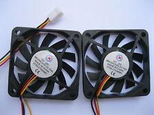 12 pcs Brushless DC Cooling Fan 11 Blade 24V 6010S 60x60x10mm 3pin