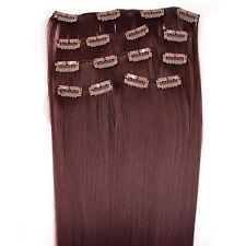Clip in Extensions Haarverlängerung Haarverdichtung 7 Tressen Set 45cm 55cm