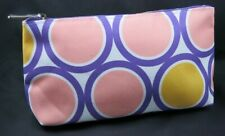 New CLINIQUE Cosmetic Makeup Bag from USA-Purple Circle