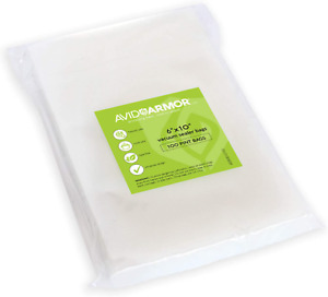 100 Pint Vacuum Sealer Storage Bags for Food Saver, Seal a Meal Vac Sealers