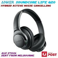 Anker Life Q20 Hybrid Active Noise Cancelling Bluetooth Wireless Headphones ANC