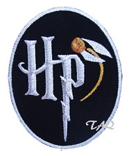 HARRY POTTER HP Quidditch Badge Iron Sew On Embroidered Patch UK Seller