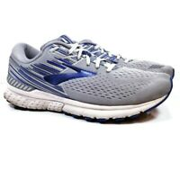 Brooks Adrenaline GTS 19 Mens Sz 11.5 2E Wide Gray Blue Running Training Shoes