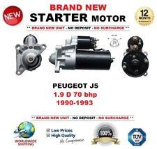 FOR PEUGEOT J5 1.9 D 70 bhp 1990-1993 BRAND NEW STARTER MOTOR 1.8kW 11 Teeth