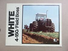 WHITE 4-150 Field Boss Knicklenker Schlepper Original 1977