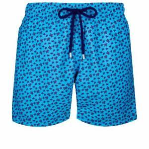 Brand New Man's Vilebrequin Turtle Swim Shorts Size XXL