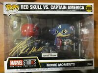 Ross Marquand Signed Red Skull vs. Captain America 389 Funko Pop - JSA NN49012