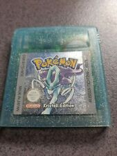 Pokemon Kristall Edition -Nintendo Game Boy Color- Modul - SPEICHERT/deutsch TOP