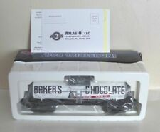Atlas Baker's Chocolate Tank Car 1005010s Industrial Rail Road 31057 O Gauge