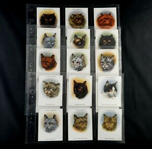 Cats Cigarette Cards by John Player Issued 1936 Pick Card