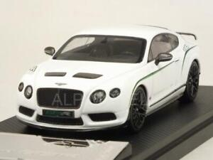 Bentley Continental GT3R 2015 White 1:43 ALMOST REAL 430401