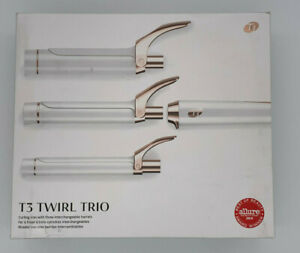 """T3 Twirl Trio Interchangeable Barrels (1"""", 1 1/4"""", 1 1/2"""") Curling Iron"""
