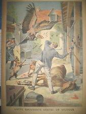 AUBERIES DE BLANZAT VAUTOUR MAMERS SURE CRIME D'ENFANT LE PETIT PARISIEN 1909