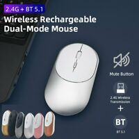 2.4GHz Wireless Cordless Mouse Bluetooth / USB Mice Optical Scroll For PC Laptop