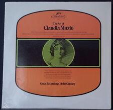 SERAPHIM 60111 US PRESS THE ART OF CLAUDIA MUZIO - ITALIAN ARIAS STILL SEALED