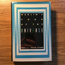Neil deGrasse Tyson - Merlin's Tour of the Universe 1st SIGNED by Stephen Tyson