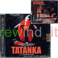 """PEPPE VOLTARELLI GAGLIARDI ROBERTO SAVIANO """"TATANKA"""" RARO CD 2011 OST -SIGILLATO"""