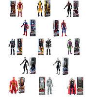 New 12'' The Marvel Titan Hero Wolverine ULTIMATE Spiderman Thor Action Figure