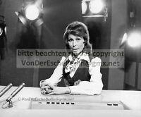 STARS: Renate BAUER TV-Ansagerin SFB 2 Orig.Fotografien Starfotograf Ingo BARTH