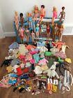 Large Lot Vintage 1960's 70's Barbie Dolls Clothes Accessories