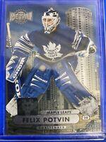 2013-14 Fleer Showcase Metal Universe #MU-11 Felix Potvin Toronto Maple Leafs