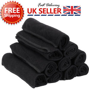10x 40CM Microfibre Home Kitchen Car Valeting Dusters Polishing Cleaning Cloths