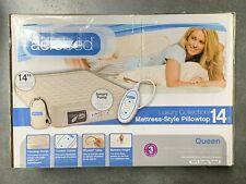 "Aerobed Luxury Collection 14"" High Mattress-Style Pillowtop Queen ; DMG BX 2"