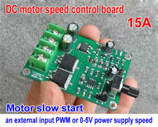 DC 5V-18V 12V 15A PWM Motor Speed Controller Stepless Speed Control Driver Board