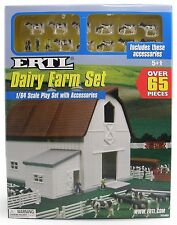 1:64 ERTL Farm Country *DAIRY BARN* Playset *65 PIECES* *NIB*