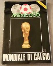 MEXICO 86 Mondiale di Calcio+poster ed allegati TV sorrisi e canzoni, giornalino