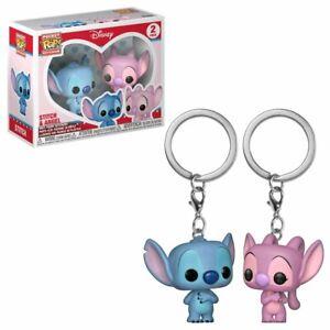 Funko POP Disney Lilo & Stitch - Stitch & Angel Pocket Pop! Keychain 2-pack