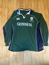 London Irish Canterbury Rugby Jersey Large 2004/2005 Guinness