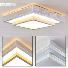 Decken Leuchte Luxus LED Flur Wohn Schlaf Bade Zimmer Beleuchtung Silberfarben