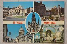 """CPM """" CANADA - Le Vieux Montréal - Différentes vues"""