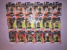 HALO MEGA BLOKS SERIES 2 SERIES 3 & SERIES 4 HALO HEROES LOT OF 18  **NEW**