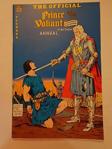 Prince Valiant King Arthur Annual  Hal Foster #1 Pioneer Comics Winter 1988 NM