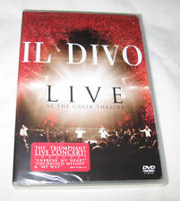 Il Divo - Live at the Greek DVD 2006 Classical Pop Music, U.S.A