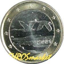 Pièces euro pour 1 euro année 2001