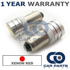 2x XENON rosso BAX9S H6W 434 LUCI DI POSIZIONE upgrade LED SMD LAMPADINE